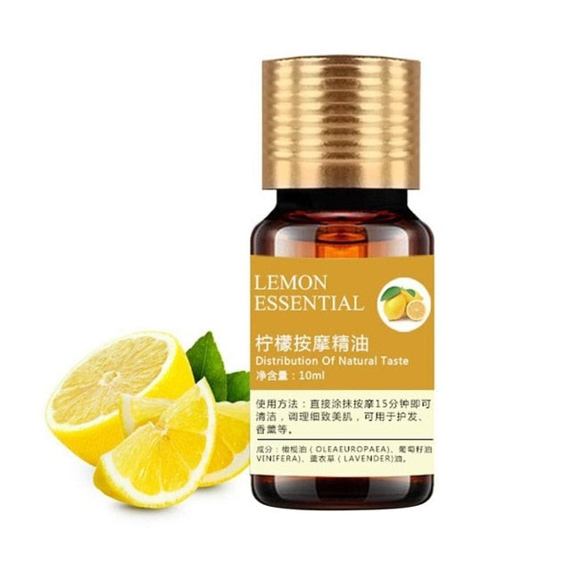 10ML Natural Lemon Essential Oil