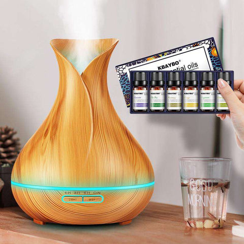 Image of 400ml Aroma Essential Oil Diffuser