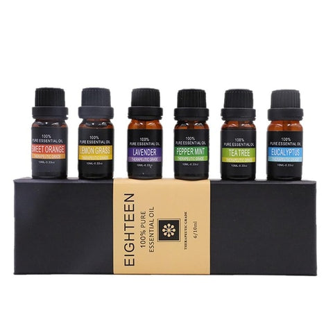 Image of 6 Piece Spa Essential Oil Gift Set
