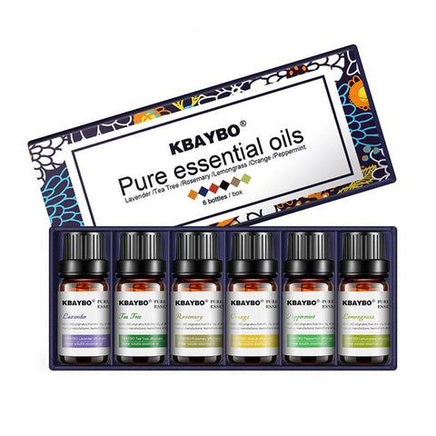 Image of 6 Pure Plant Essential Oils Gift Set