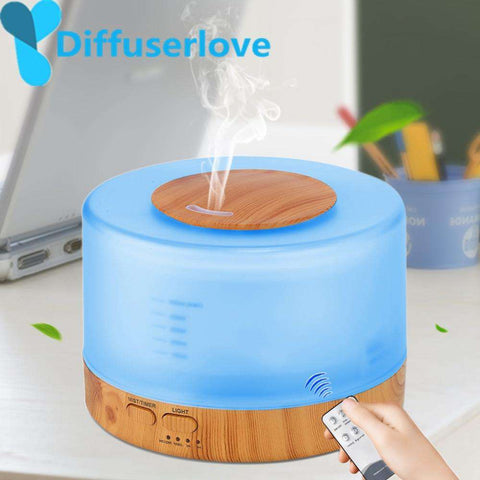Image of 500ml Humidifier Essential Oil Diffuser