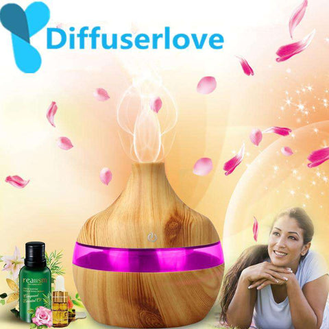 Image of Aromatherapy Essential Oil Diffuser USB 300ml