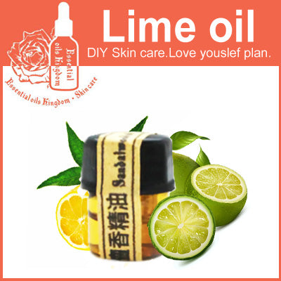 Image of 100% Pure Italian Lime Essential Oil 2ml