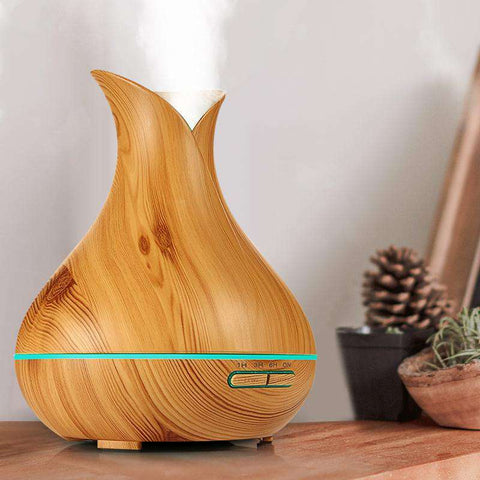 KBAYBO Ultrasonic Essential Oil Diffuser