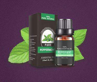 Image of Pure Peppermint Plant Essential Oil