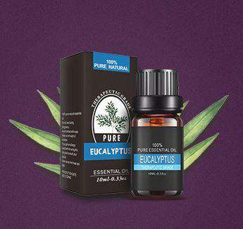 Image of Pure Eucalyptus Plant Essential Oil
