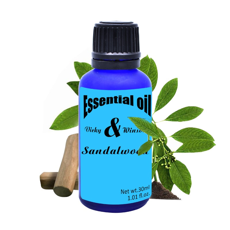 100% Natural Sandalwood Essential Oil