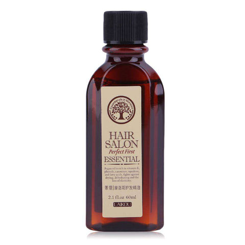 Image of 60ML Argan Oil Moroccan Pure Hair Salon Essential Oil
