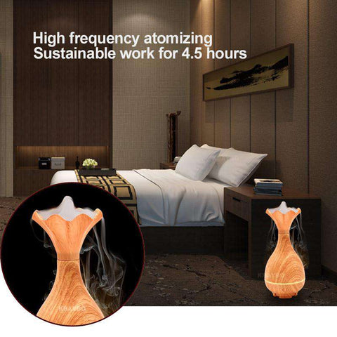 Image of USB Ultrasonic Diffuser Vase Shape Humidifier