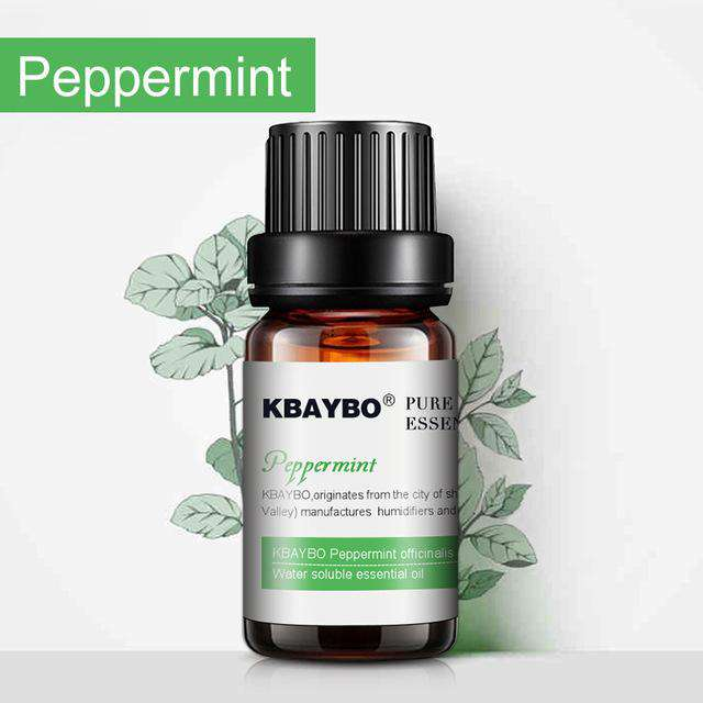 KBAYBO Pure Peppermint Essential Oil Therapeutic Grade