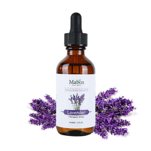 Image of 100% Pure Lavender Essential Oil 60 ml - Therapeutic Grade