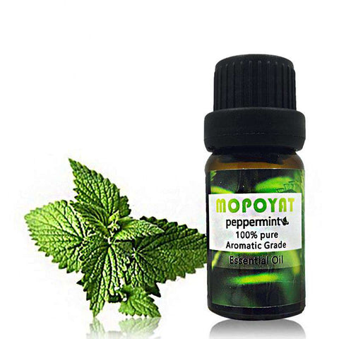 Pure Natural Peppermint Essential Oil Aromatic Grade by Mopoyrt