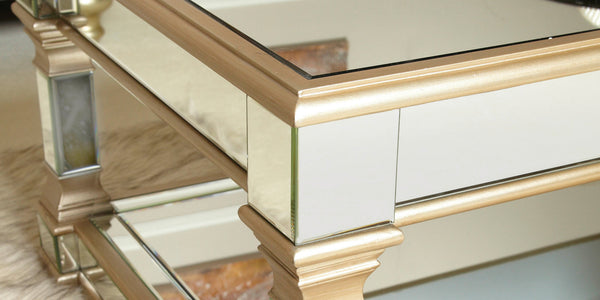 How to clean your Mirrored Furniture from Lux-Hom