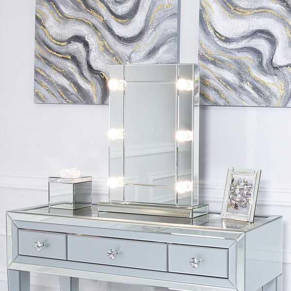Dressing Table Mirror with lights Lux-Hom