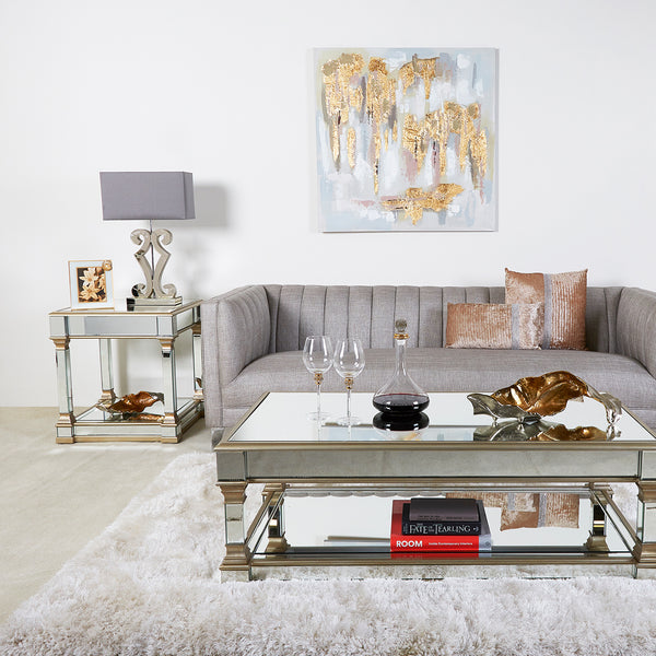 Luxor End Table and Coffee Table at Lux-Hom