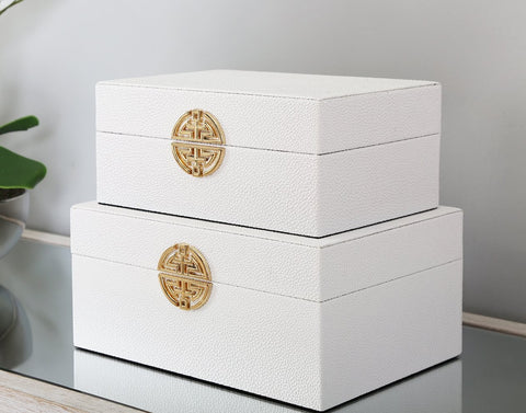 Jewellery Box Set of two Lux-Hom