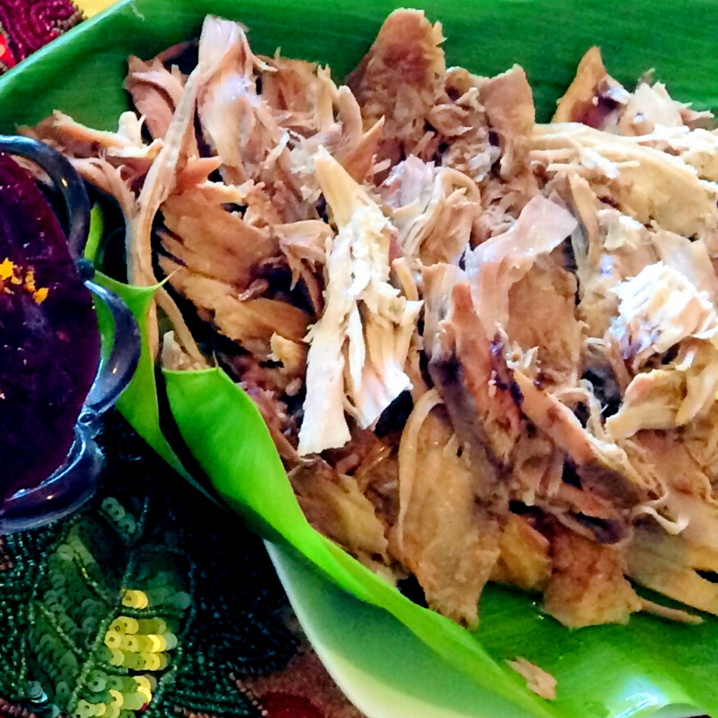 Hawaiian Thanksgiving with Kalua Turkey