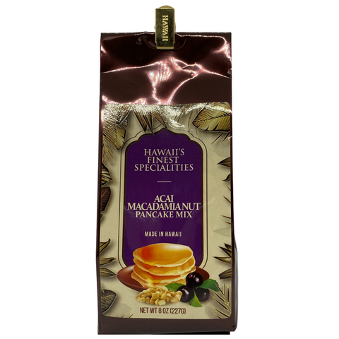Hawaii's Finest Specialities Acai MacNut Buttermilk Pancake Mix