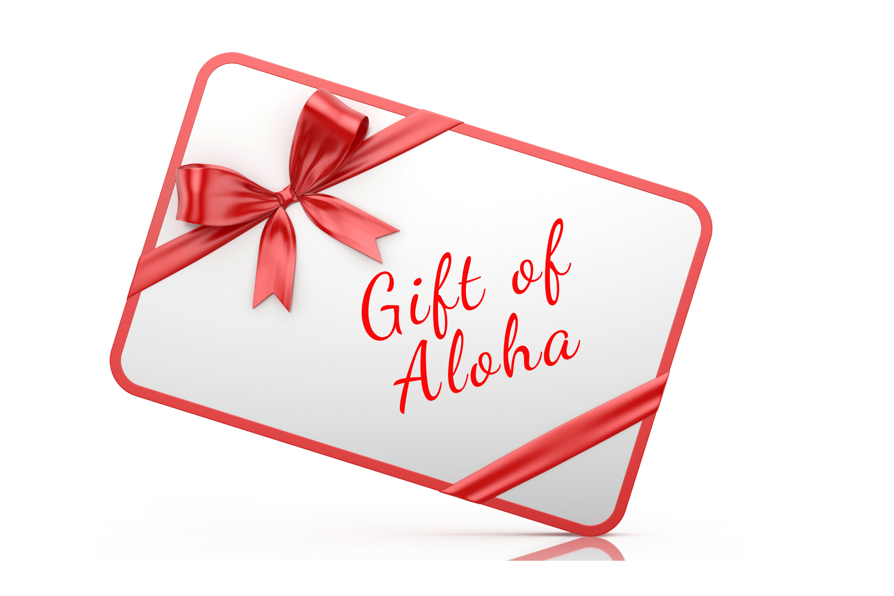 Tastes of Aloha Gift Card
