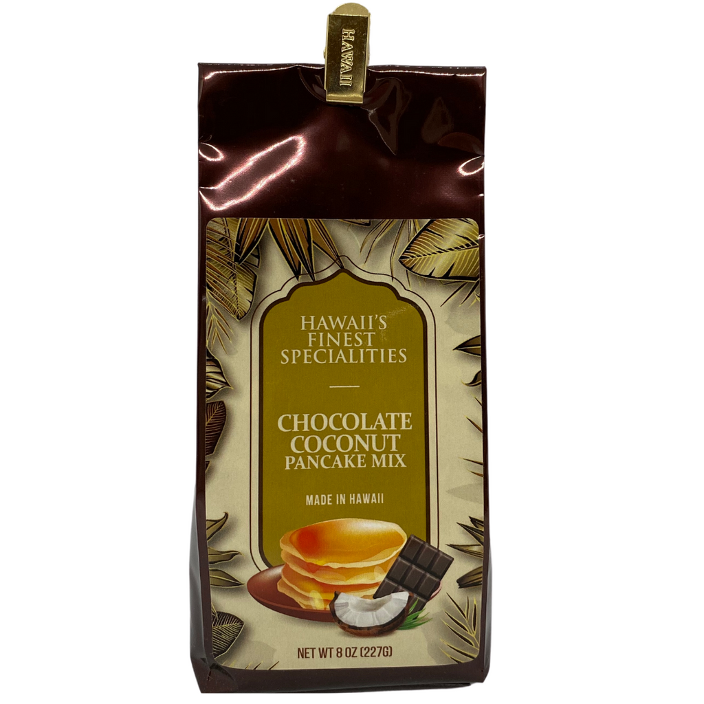 Hawaii's Finest Specialities Chocolate Coconut Buttermilk Pancake Mix