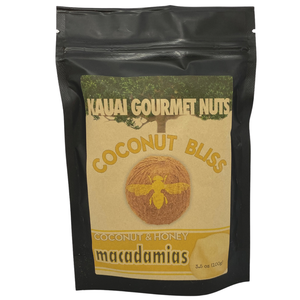 Kaua'i Gourmet Nuts - Coconut & Honey Kettle Roasted Macadamias
