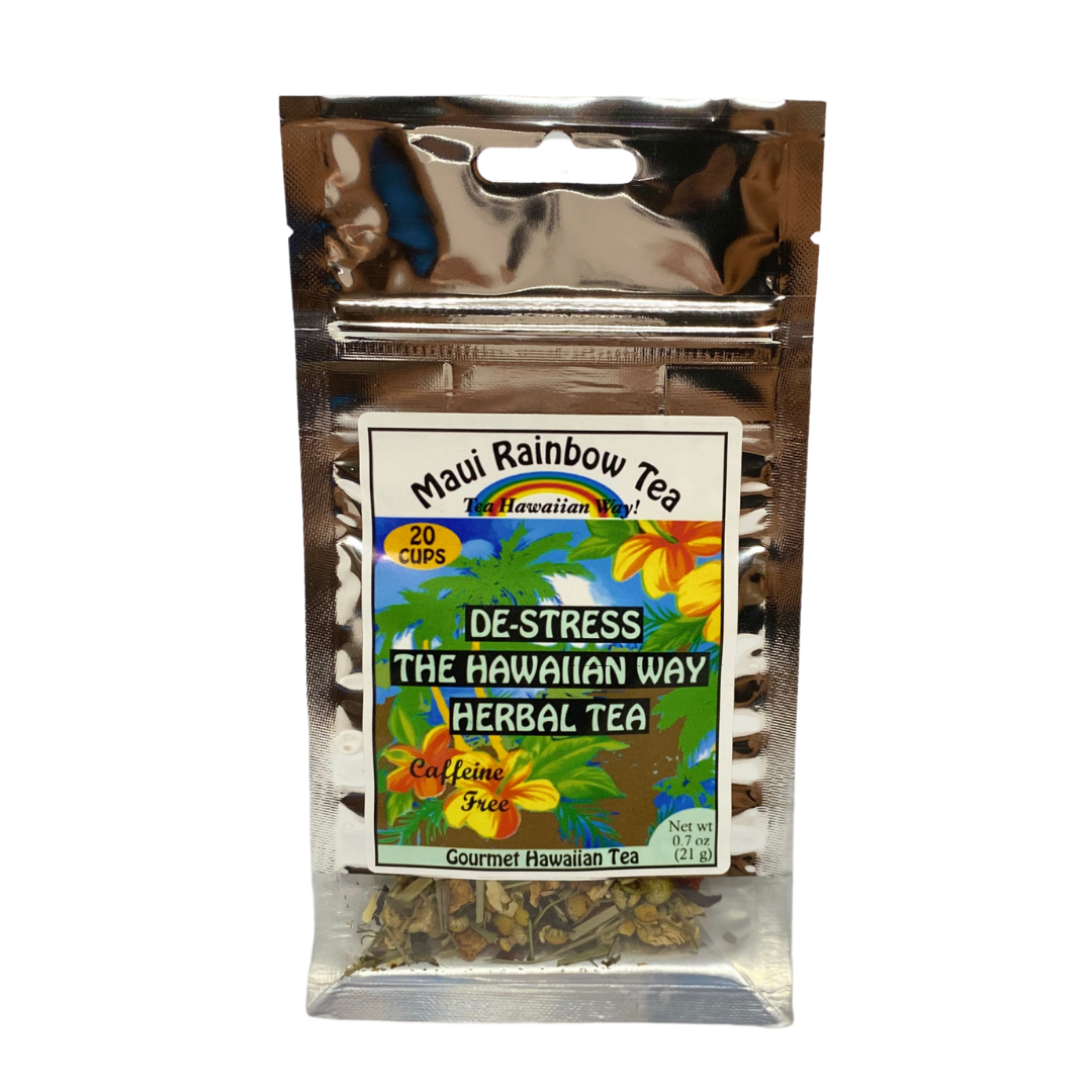 Maui Rainbow Tea De-Stress The Hawaiian Way Herbal Tea