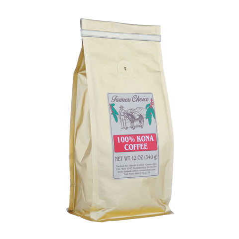 Farmers Choice 100% Kona Coffee 12oz.
