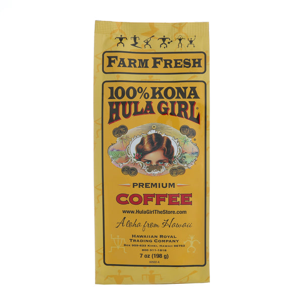 Hula Girl 100% Kona Coffee