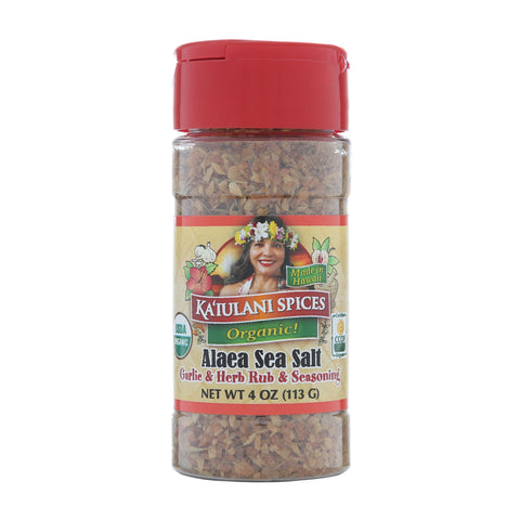Kaiulani Spices Organic Alaea Sea Salt