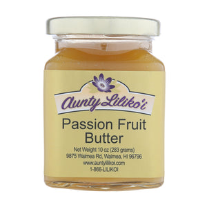 Aunty Lilikoi Passion Fruit Butter