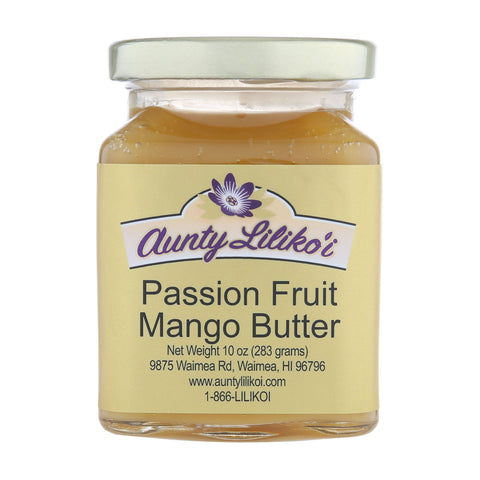 Aunty Lilikoi Passion Fruit Mango Butter 10oz.