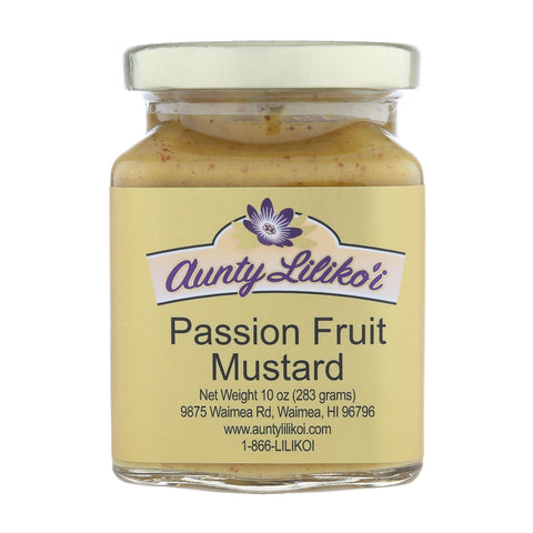 Aunty Lilikoi Passion Fruit Mustard 10oz.