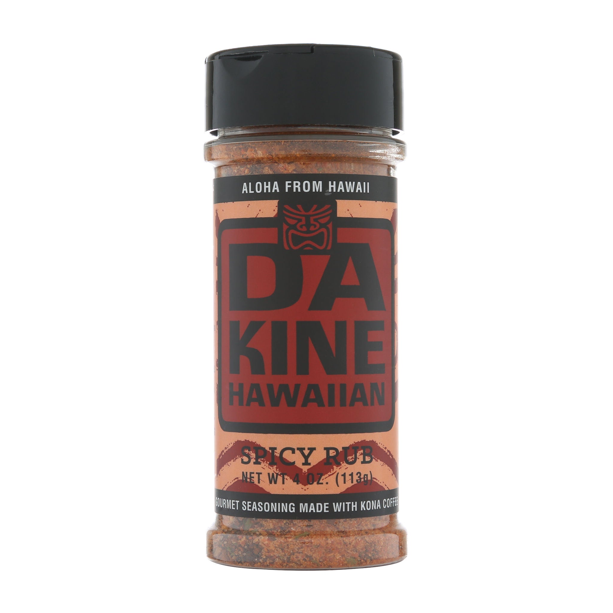 Da Kine Hawaiian Spicy Kona Coffee Rub