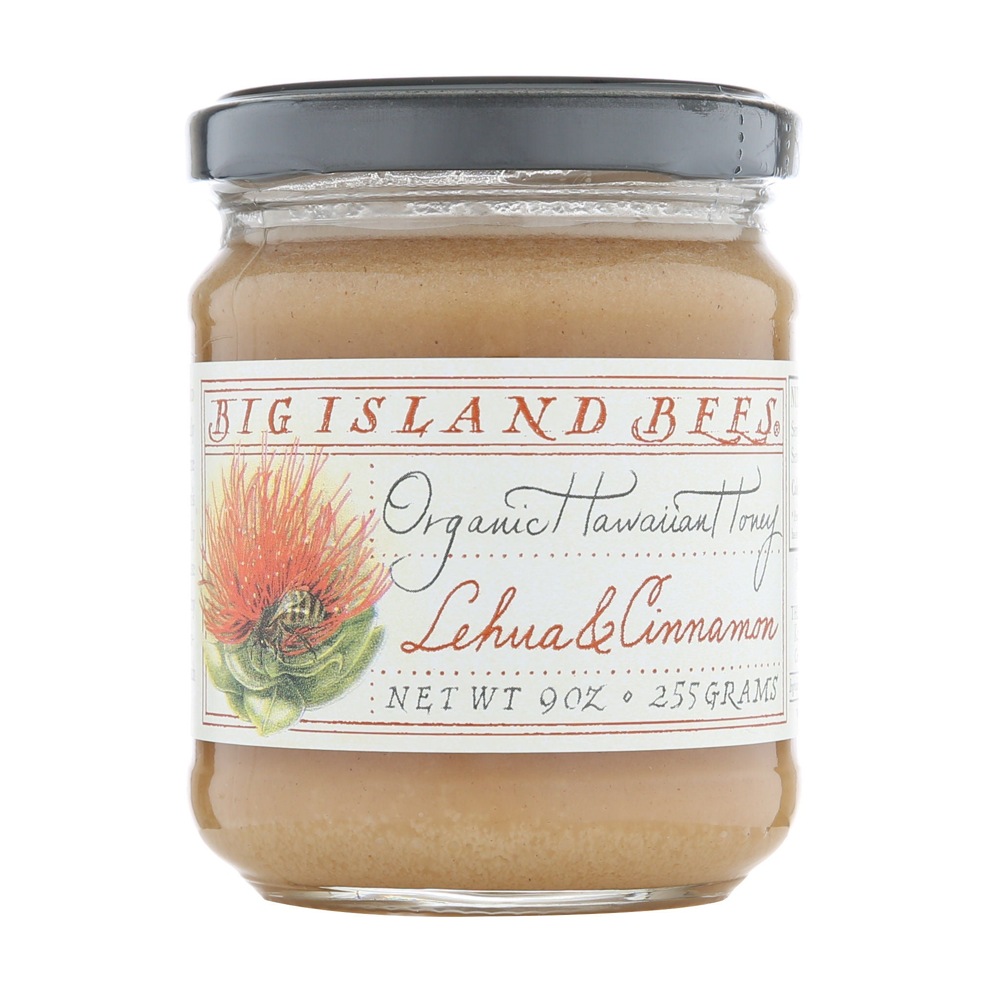 Big Island Bees Honey Lehua Cinnamon 9oz.