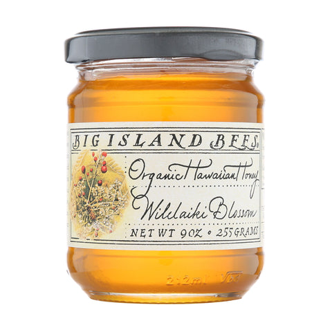 Big Island Bees Honey Wilelaiki Honey 9oz.