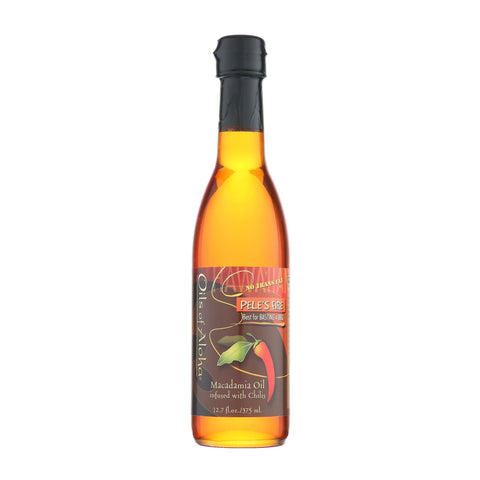 Oils of Aloha Pele's Fire Hawaiian Macadamia Nut Oil