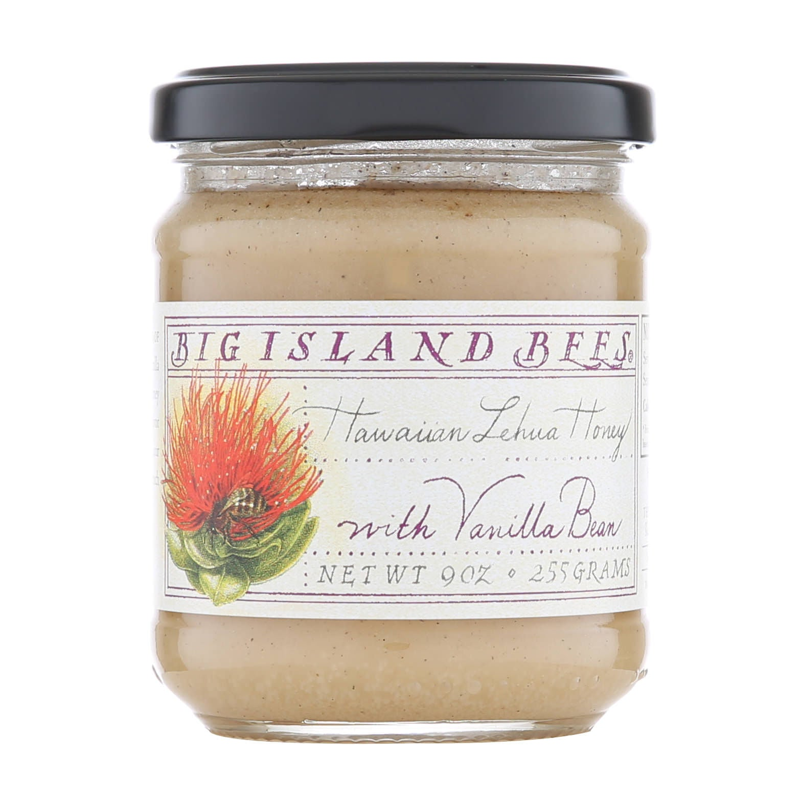 Big Island Bees Lehua Honey with Vanilla Bean