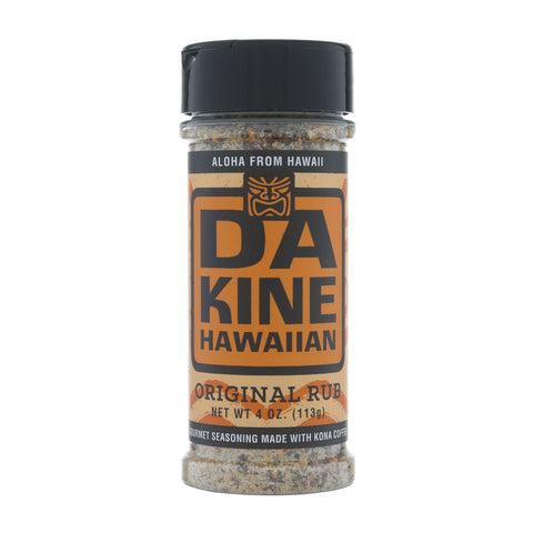Da Kine Hawaiian Original Kona Coffee Rub