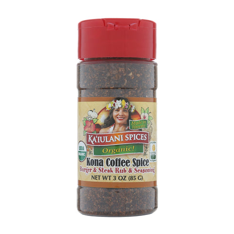 Kaiulani Spices Kona Coffee Spice Rub & Seasoning