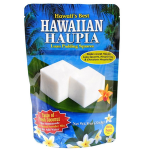 Hawaii's Best - Hawaiian Haupia Luau Pudding Squares