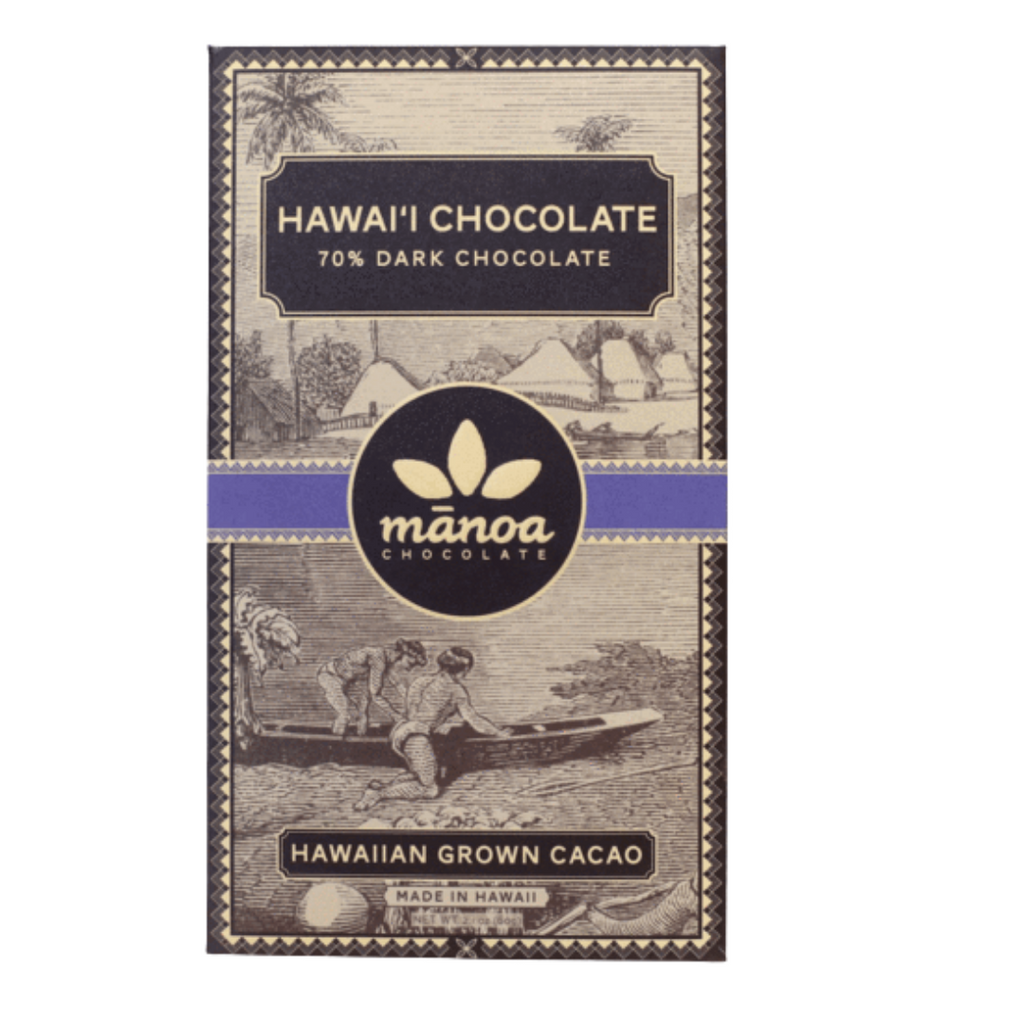 Manoa Chocolate Hawai'i Chocolate Bar 70%