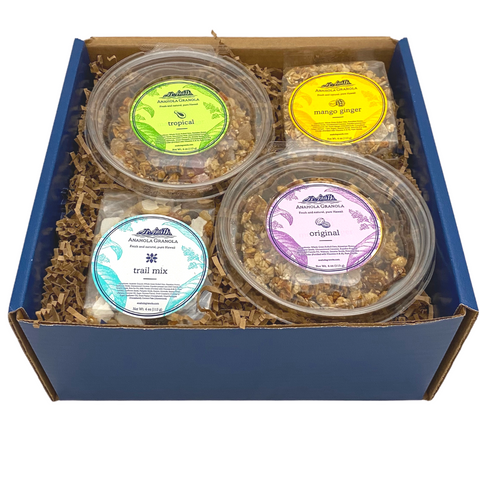 Tastes of Aloha - Hawaiian Granola Gift Box