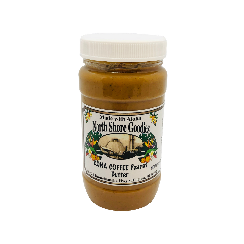 North Shore Goodies - Kona Coffee Peanut Butter