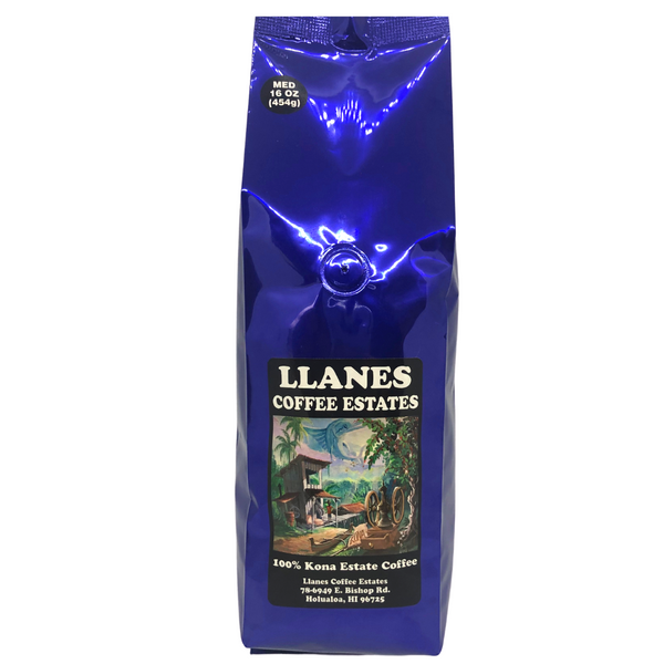 Llanes Coffee Estates 100% Kona Estate Coffee