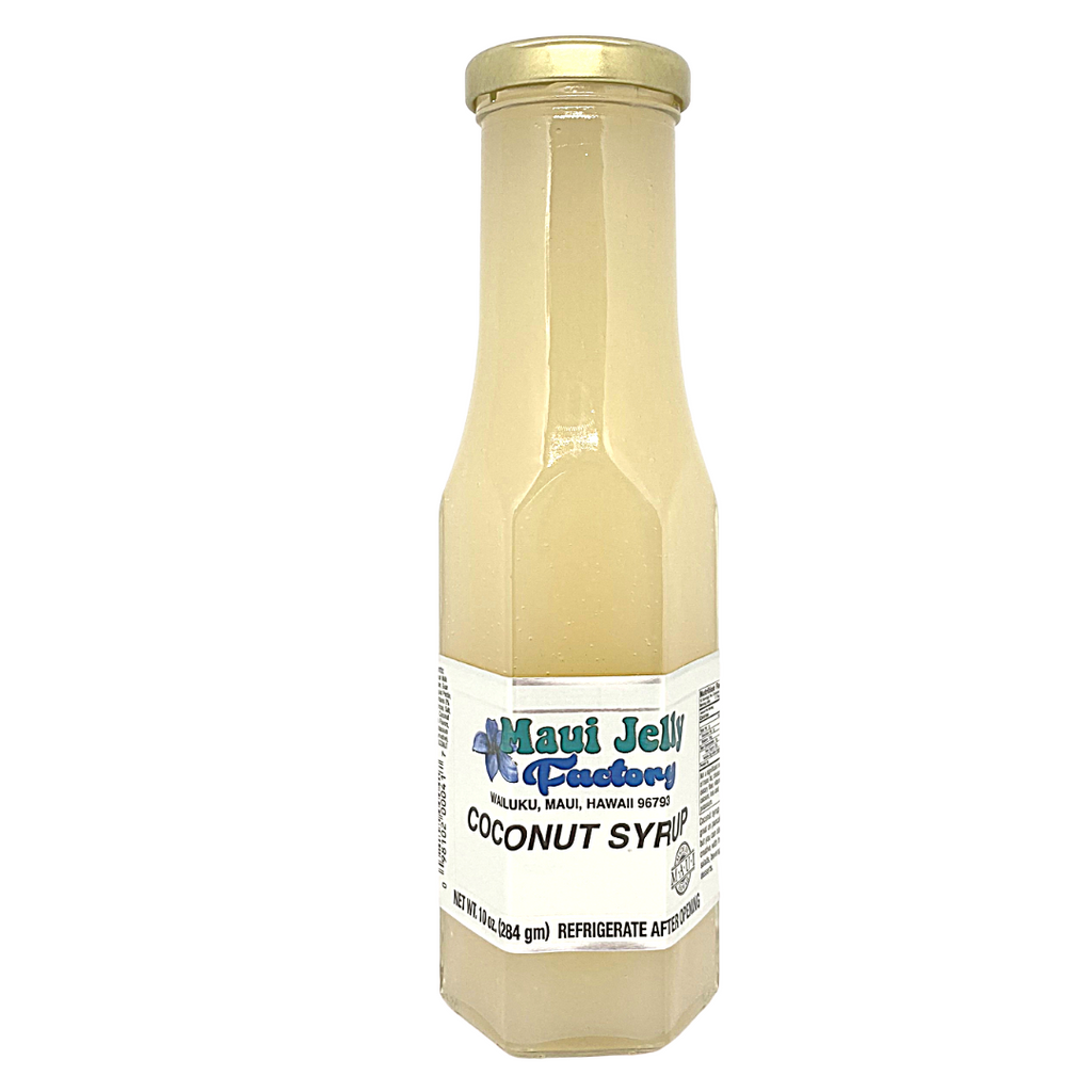Maui Jelly Factory Coconut Syrup