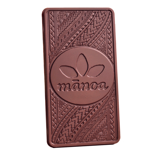 Manoa Chocolate Hawai'i Milk Chocolate Bar 50% Cacao