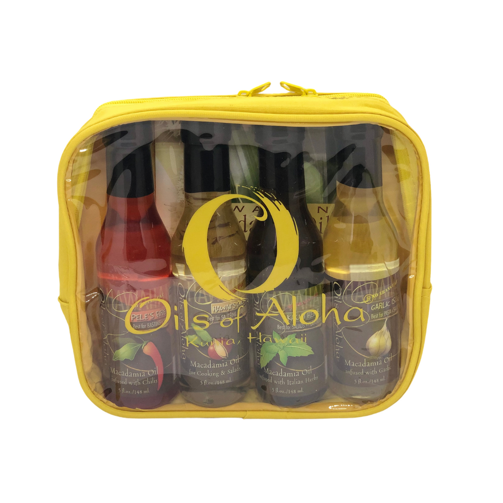 Oils of Aloha Macadamia Nut Oil - Gift Set of 4