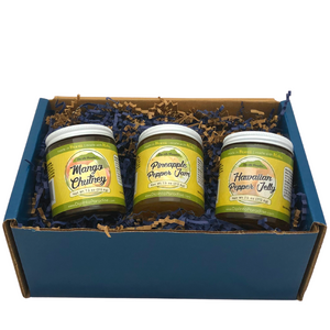 Tastes of Aloha - Hawaiian Savory Jam & Jelly Mini Gift Box
