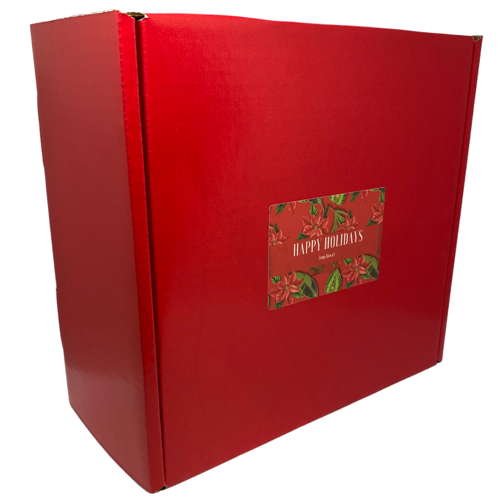 Hawaiian Holiday Christmas Morning Gift Box