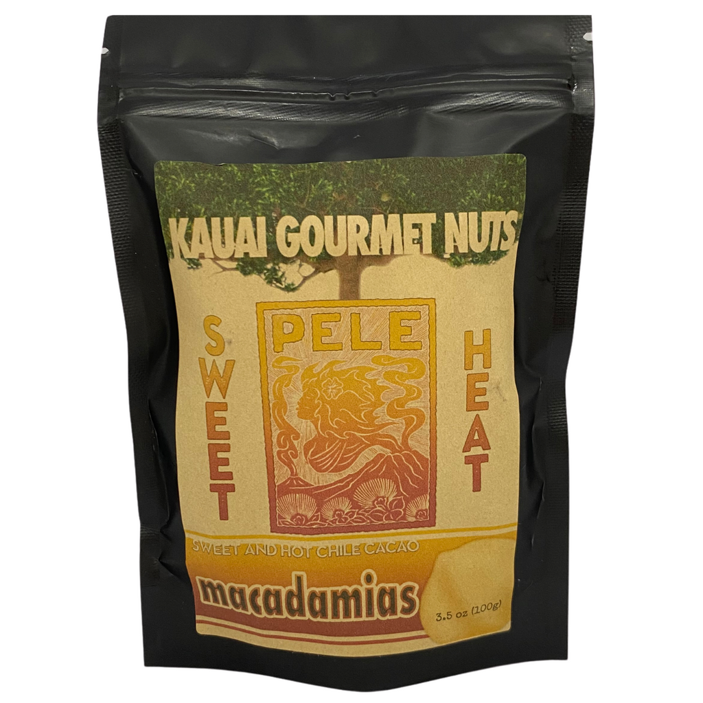 Kaua'i Gourmet Nuts - Sweet Pele Heat Kettle Roasted Macadamias